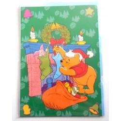 Carte postale neuves avec enveloppe fête anniversaire enfant Disney Winnie l'ourson Mickey (lot 40)