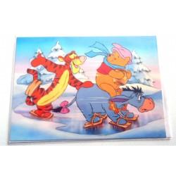 Carte postale neuves avec enveloppe fête anniversaire enfant Disney Winnie l'ourson Mickey (lot 41)