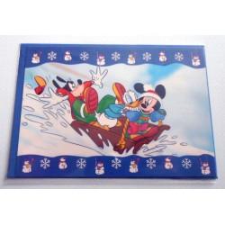 Carte postale neuves avec enveloppe fête anniversaire enfant Disney Winnie l'ourson Mickey (lot 45)