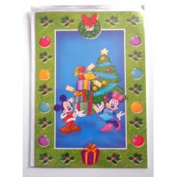 Carte postale neuves avec enveloppe fête anniversaire enfant Disney Winnie l'ourson Mickey (lot 46)