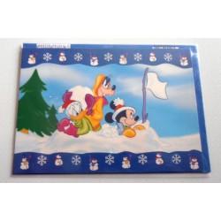 Carte postale neuves avec enveloppe fête anniversaire enfant Disney Winnie l'ourson Mickey (lot 51)