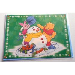 Carte postale neuves avec enveloppe fête anniversaire enfant Disney Winnie l'ourson Mickey (lot 53)