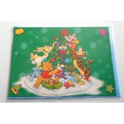Carte postale neuves avec enveloppe fête anniversaire enfant Disney Winnie l'ourson Mickey (lot 54)