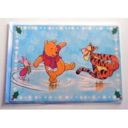 Carte postale neuves avec enveloppe fête anniversaire enfant Disney Winnie l'ourson Mickey (lot 57)