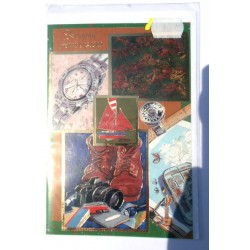 Carte postale neuve avec enveloppe joyeux anniversaire ( lot 11.01)