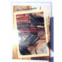 Carte postale neuve avec enveloppe joyeux anniversaire (11.02)