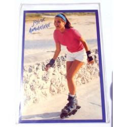 Carte postale neuve avec enveloppe joyeux anniversaire (22.03)