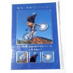 Carte postale neuve avec enveloppe joyeux anniversaire (25.04)