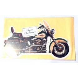 Carte postale neuve avec enveloppe joyeux anniversaire ( lot 25.07)