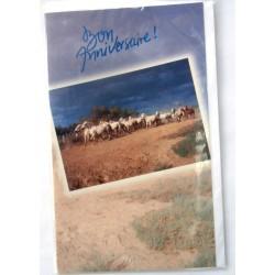 Carte postale neuve avec enveloppe joyeux anniversaire ( lot 26.03)