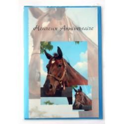 Carte postale neuve avec enveloppe joyeux anniversaire ( lot 26.06)