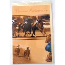 Carte postale neuve avec enveloppe joyeux anniversaire (27.02)
