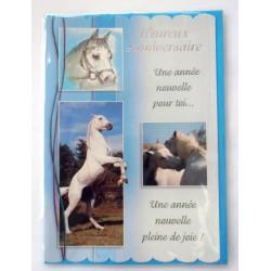 Carte postale neuve avec enveloppe joyeux anniversaire (27.03)