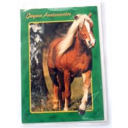 Carte postale neuve avec enveloppe joyeux anniversaire (27.04)