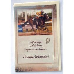 Carte postale neuve avec enveloppe joyeux anniversaire ( lot 28.01)