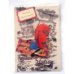 Carte postale neuve avec enveloppe joyeux anniversaire ( lot 28.05)