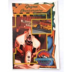 Carte postale neuve avec enveloppe joyeux anniversaire (28.07)