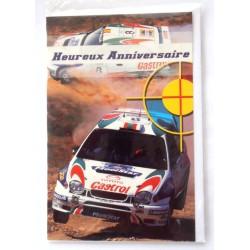 Carte postale neuve avec enveloppe joyeux anniversaire (28.08)