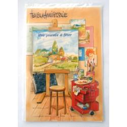 Carte postale neuve avec enveloppe joyeux anniversaire (29.03)