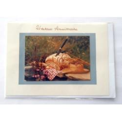 Carte postale neuve avec enveloppe joyeux anniversaire (34.04)