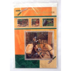 Carte postale neuve avec enveloppe joyeux anniversaire (34.06)