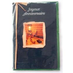 Carte postale neuve avec enveloppe joyeux anniversaire (34.09)