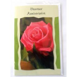 Carte postale neuve avec enveloppe joyeux anniversaire (35.01)