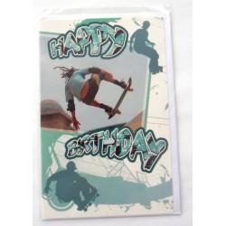 Carte postale neuve avec enveloppe joyeux anniversaire ( lot 46)