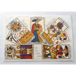 Carte postale neuve avec enveloppe joyeux anniversaire (47.06)