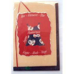 Carte postale neuve avec enveloppe joyeux anniversaire (47.09)