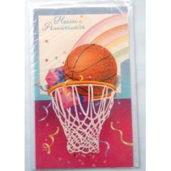 Carte postale neuve avec enveloppe joyeux anniversaire (48.02)