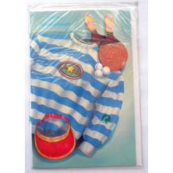 Carte postale neuve avec enveloppe joyeux anniversaire (48.03)