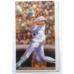 Carte postale neuve avec enveloppe joyeux anniversaire baseball (48.10)