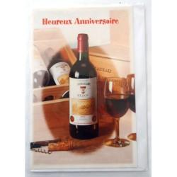 Carte postale neuve avec enveloppe joyeux anniversaire (49.11)