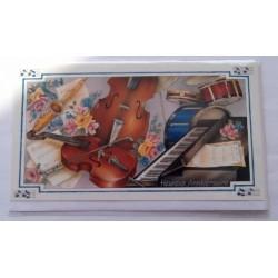 Carte postale neuve avec enveloppe joyeux anniversaire ( 52.03)