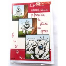 Carte postale neuve avec enveloppe joyeux anniversaire ( lot 56.08)