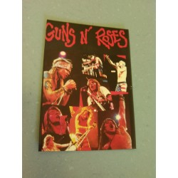 Carte Postale de Star - People - Guns N Roses - Portrait concert collection neuve