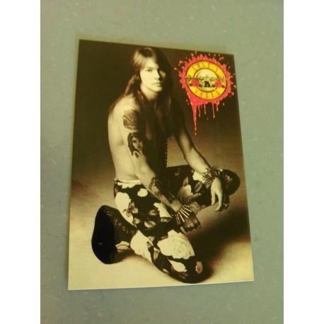 Carte Postale de Star - People - Guns N Roses - Axl Rose