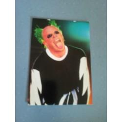 Carte Postale de Star - People - Keith Flint - The Prodigy collection neuve