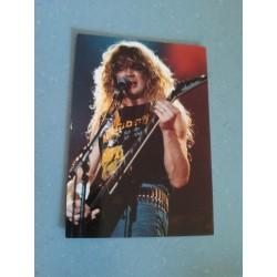 Carte Postale de Star - People - rockeur guitariste