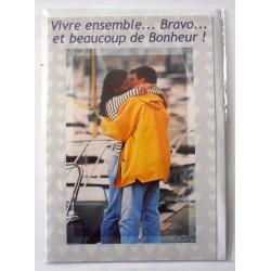 Carte postale neuve avec enveloppe félicitations MARIAGE (lot 09.10)