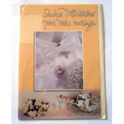 Carte postale neuve avec enveloppe félicitations MARIAGE (lot 10.12)