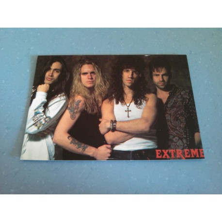 Carte Postale de Star - People - Groupe Extreme