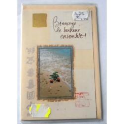 Carte postale neuve avec enveloppe félicitations MARIAGE (lot 10.13)