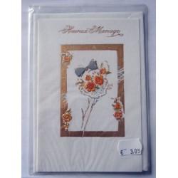 Carte postale neuve avec enveloppe félicitations MARIAGE (lot 11.01)