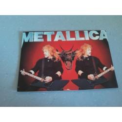 Carte Postale de Star - People - Groupe de musique Metallica - Horizontale collection neuve