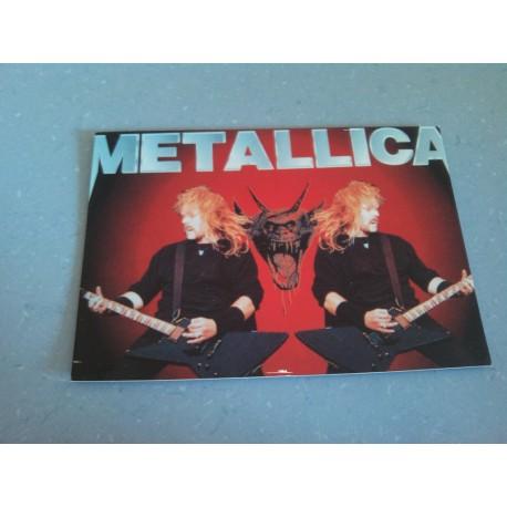 Carte Postale de Star - People - Metallica - Horizontale