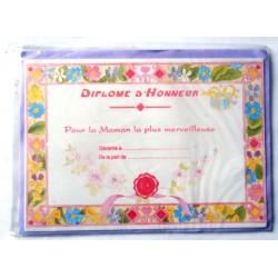 Carte postale neuve + enveloppe DIVERS bonne fête maman (lot 27.06)