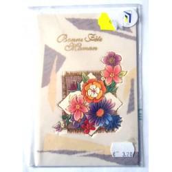 Carte postale neuve + enveloppe DIVERS bonne fête maman (lot 28.05)