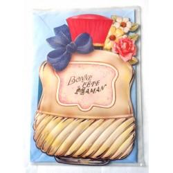 Carte postale neuve + enveloppe DIVERS bonne fête maman (lot 28.06)